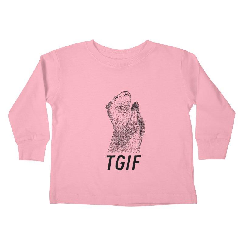 TGIF Kids Toddler Longsleeve T-Shirt by Martina Scott's Shop