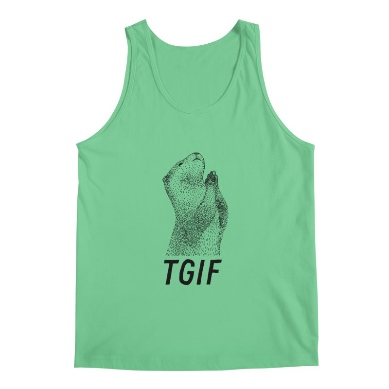 TGIF Men's Tank by Martina Scott's Shop
