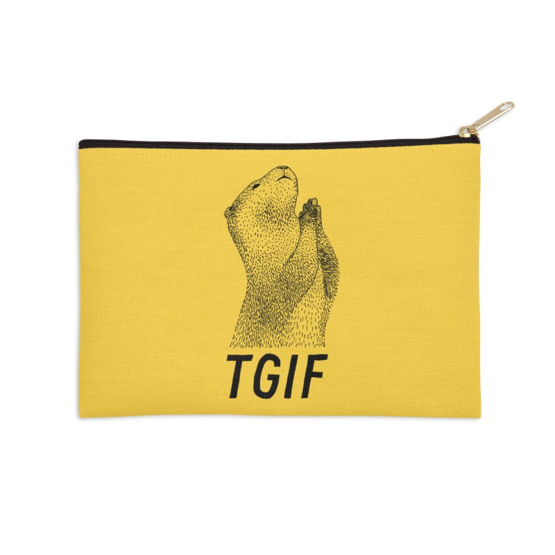 TGIF Accessories Zip Pouch by Martina Scott's Shop