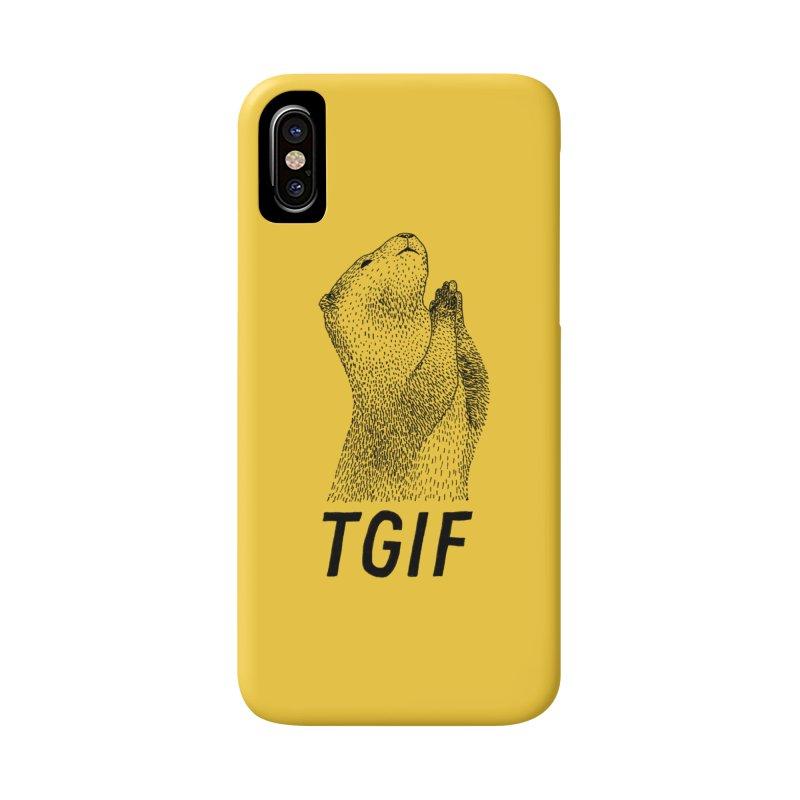 TGIF Accessories Phone Case by Martina Scott's Shop