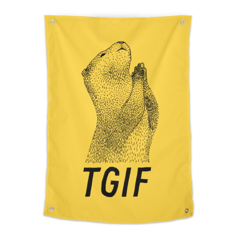 TGIF Home Tapestry by Martina Scott's Shop