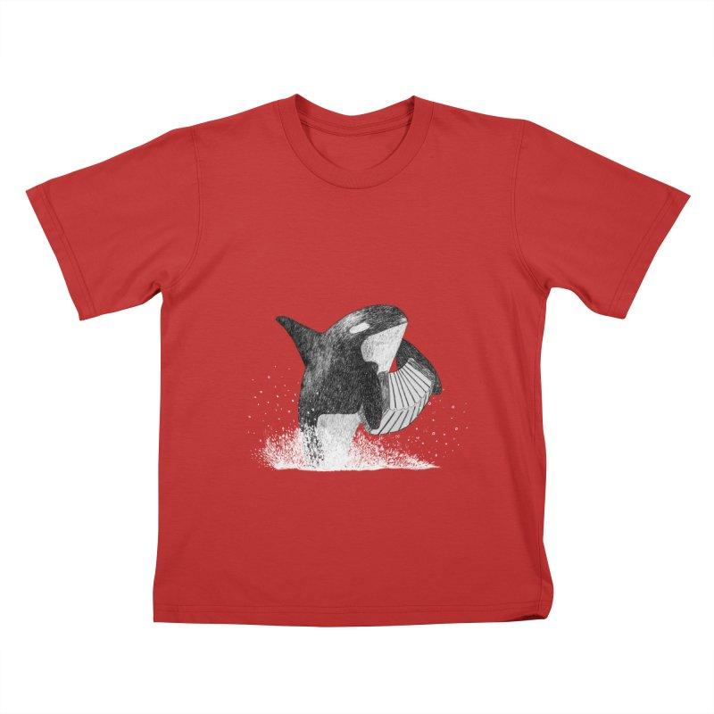 Orcordion Kids T-Shirt by Martina Scott's Shop