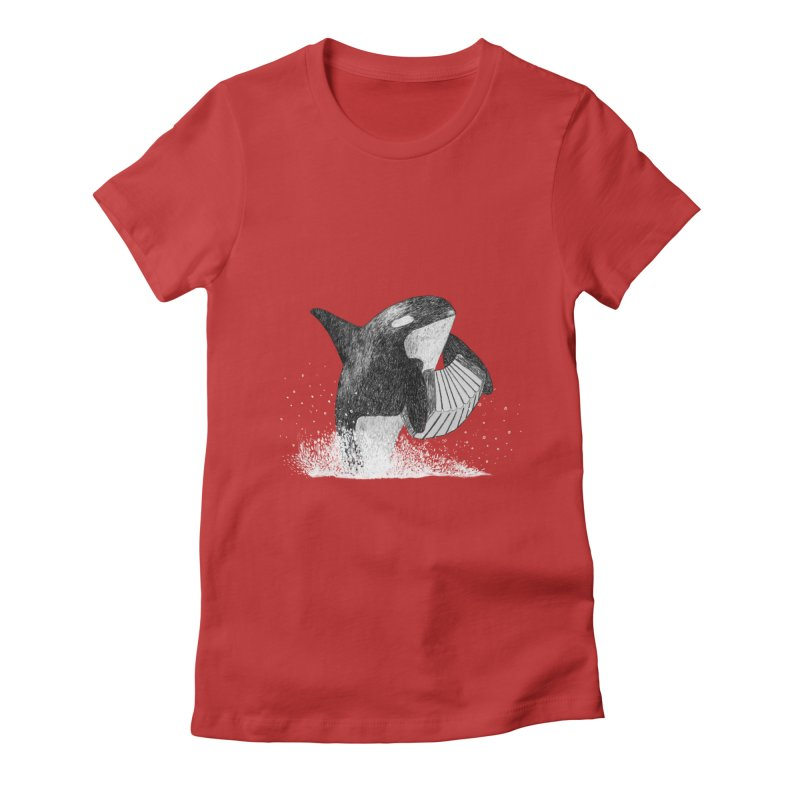 Orcordion Women's Fitted T-Shirt by Martina Scott's Shop
