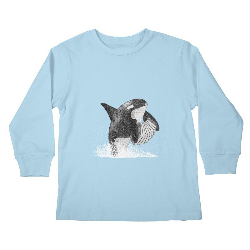 Orcordion Kids Longsleeve T-Shirt by Martina Scott's Shop
