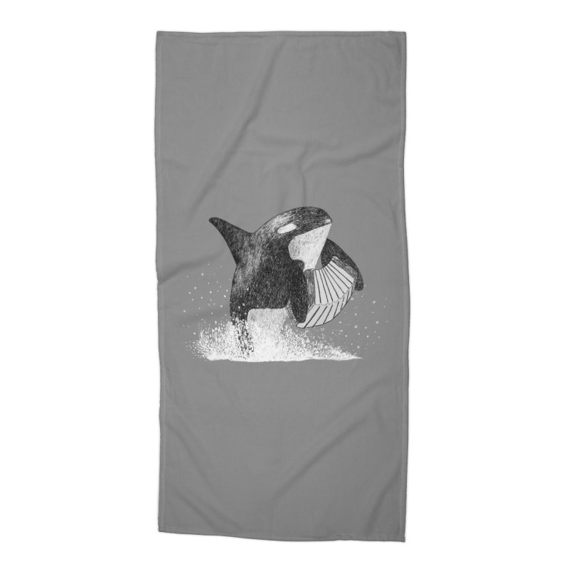 Orcordion Accessories Beach Towel by Martina Scott's Shop