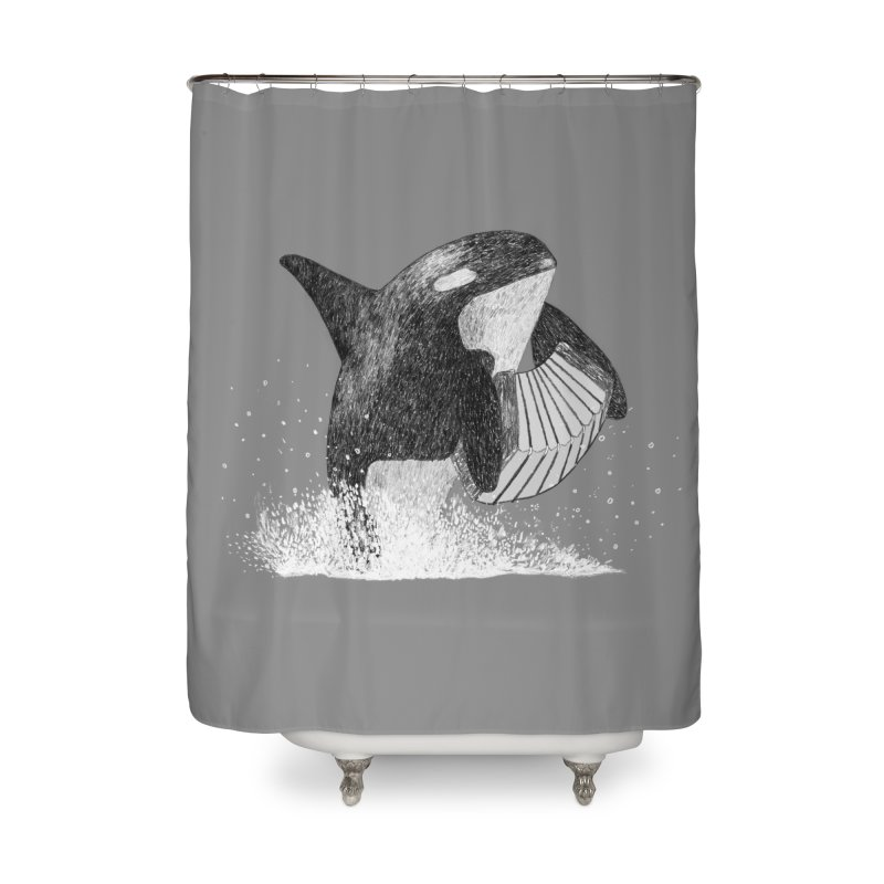Orcordion Home Shower Curtain by Martina Scott's Shop