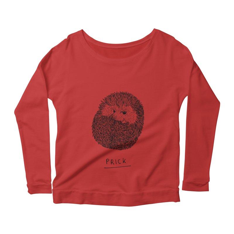 Prick Women's Scoop Neck Longsleeve T-Shirt by Martina Scott's Shop