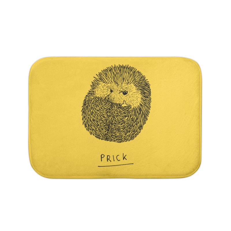 Prick Home Bath Mat by Martina Scott's Shop