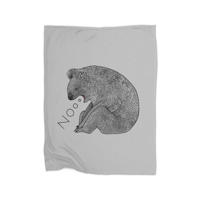 No Koala Home Blanket by Martina Scott's Shop