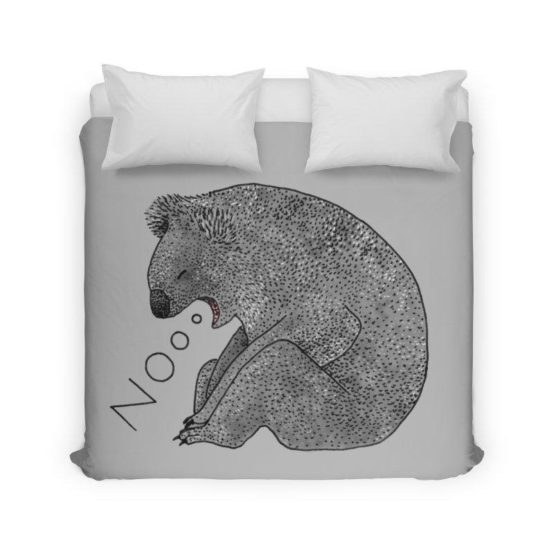 No Koala Home Duvet by Martina Scott's Shop