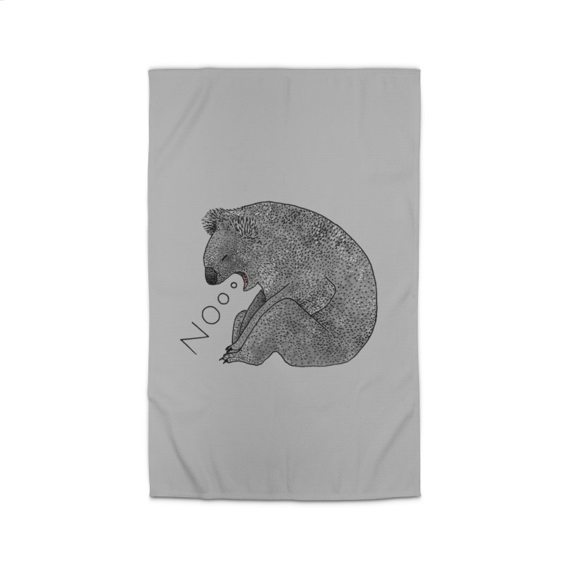 No Koala Home Rug by Martina Scott's Shop