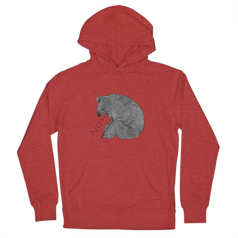 No Koala Men's Pullover Hoody by Martina Scott's Shop