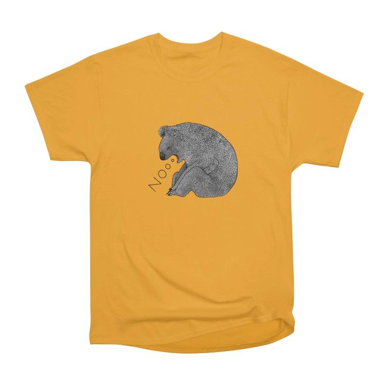 No Koala Women's Heavyweight Unisex T-Shirt by Martina Scott's Shop