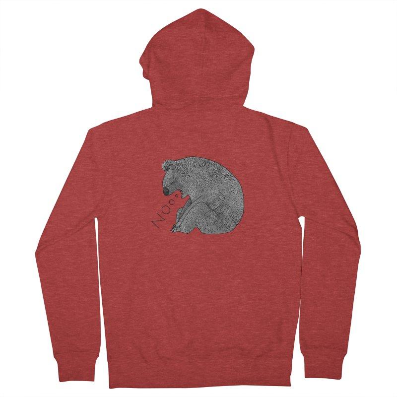 No Koala Women's Zip-Up Hoody by Martina Scott's Shop