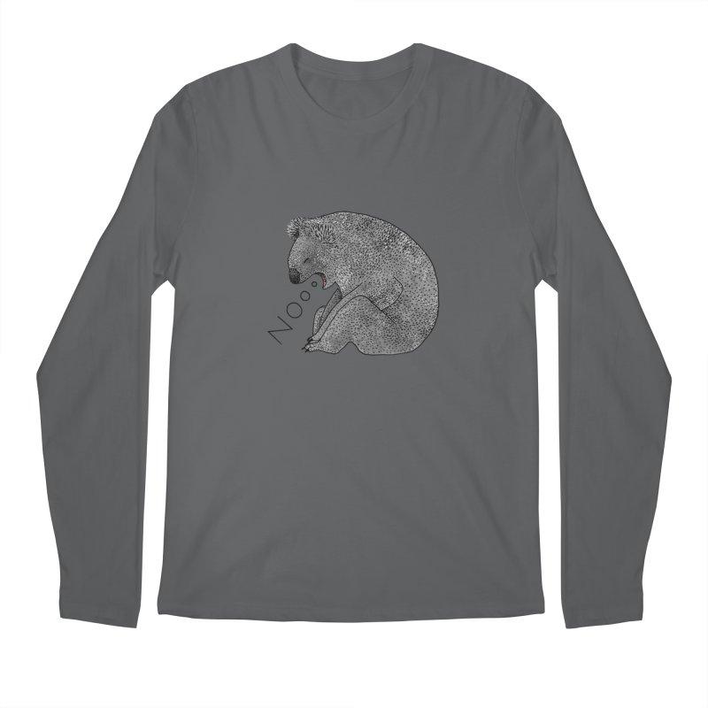 No Koala Men's Longsleeve T-Shirt by Martina Scott's Shop