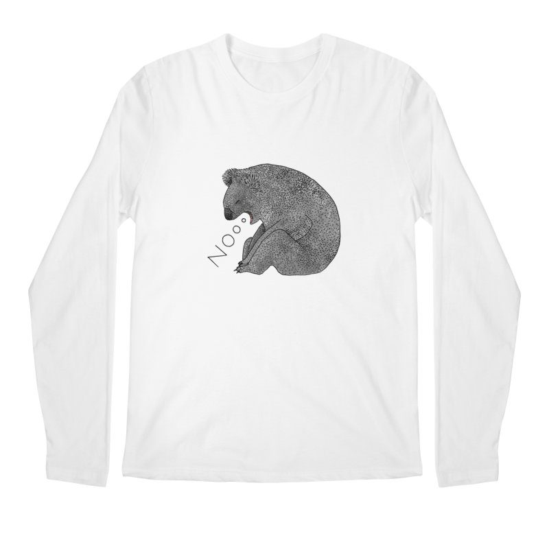 No Koala Men's Regular Longsleeve T-Shirt by Martina Scott's Shop
