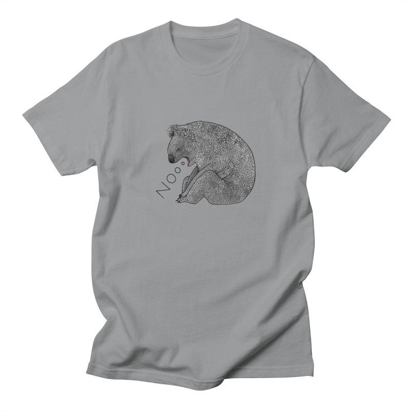 No Koala Women's Unisex T-Shirt by Martina Scott's Shop