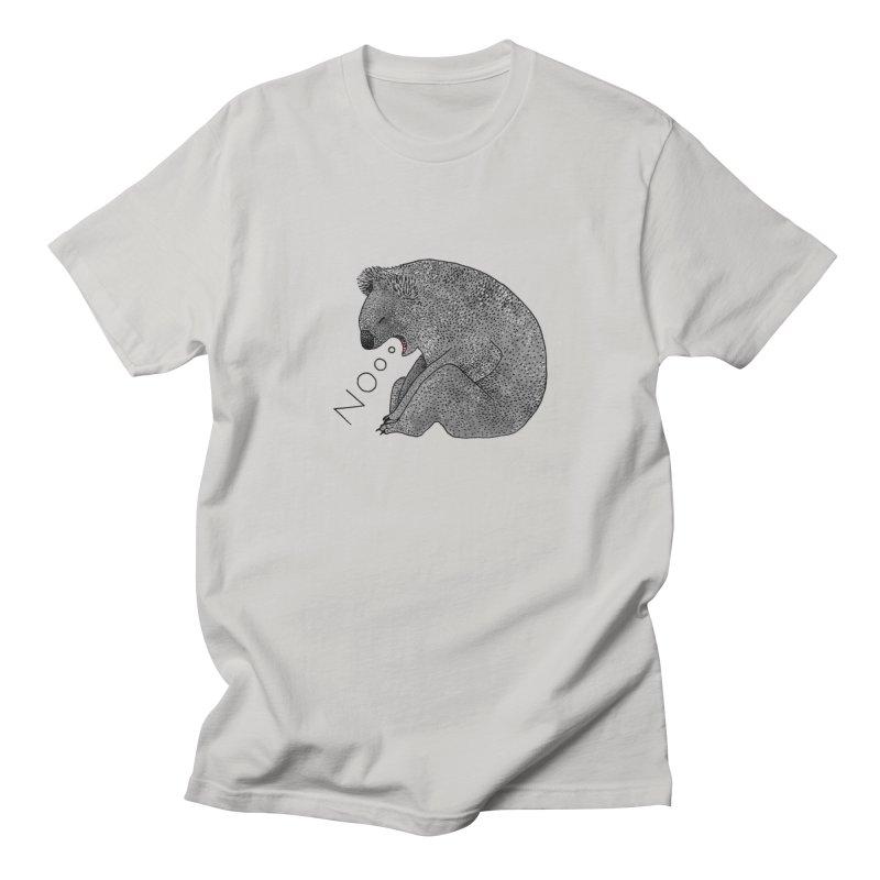 No Koala Women's Regular Unisex T-Shirt by Martina Scott's Shop