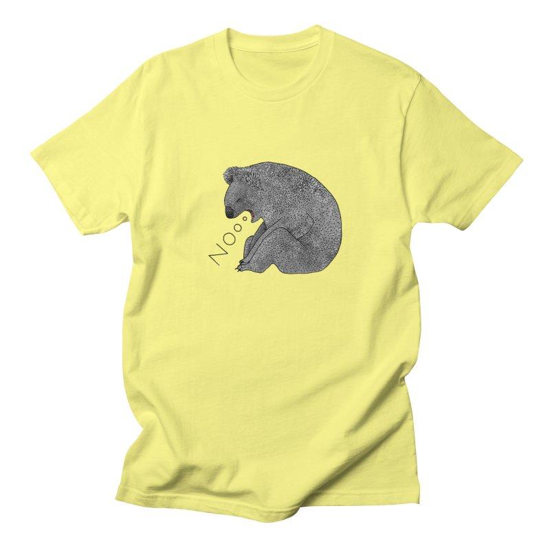 No Koala Men's Regular T-Shirt by Martina Scott's Shop