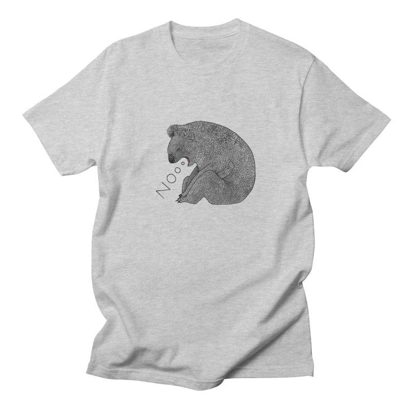 No Koala Men's T-Shirt by Martina Scott's Shop