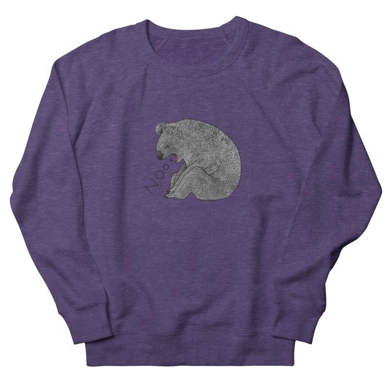 No Koala Men's French Terry Sweatshirt by Martina Scott's Shop
