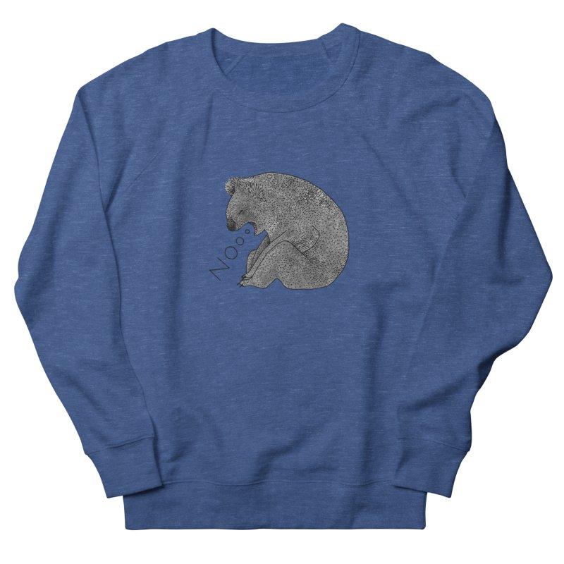 No Koala Men's Sweatshirt by Martina Scott's Shop