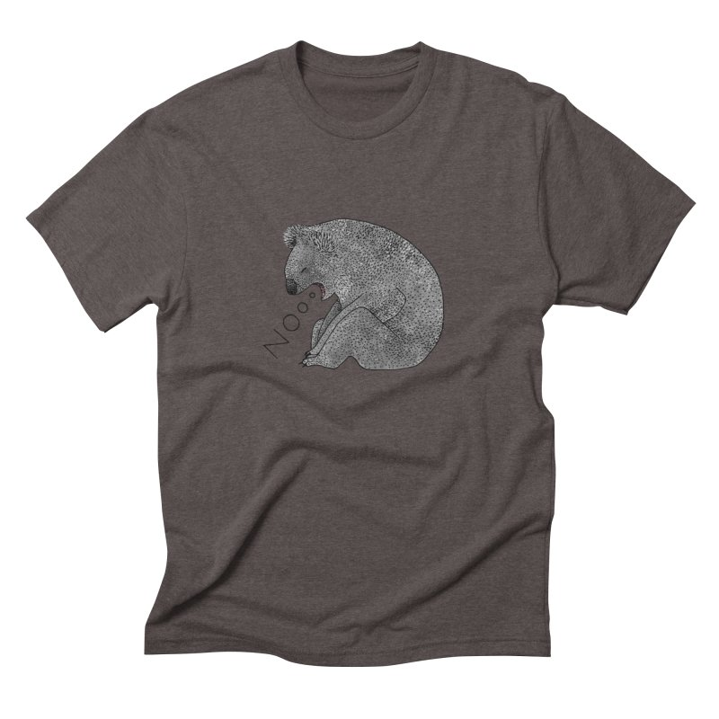 No Koala Men's Triblend T-Shirt by Martina Scott's Shop