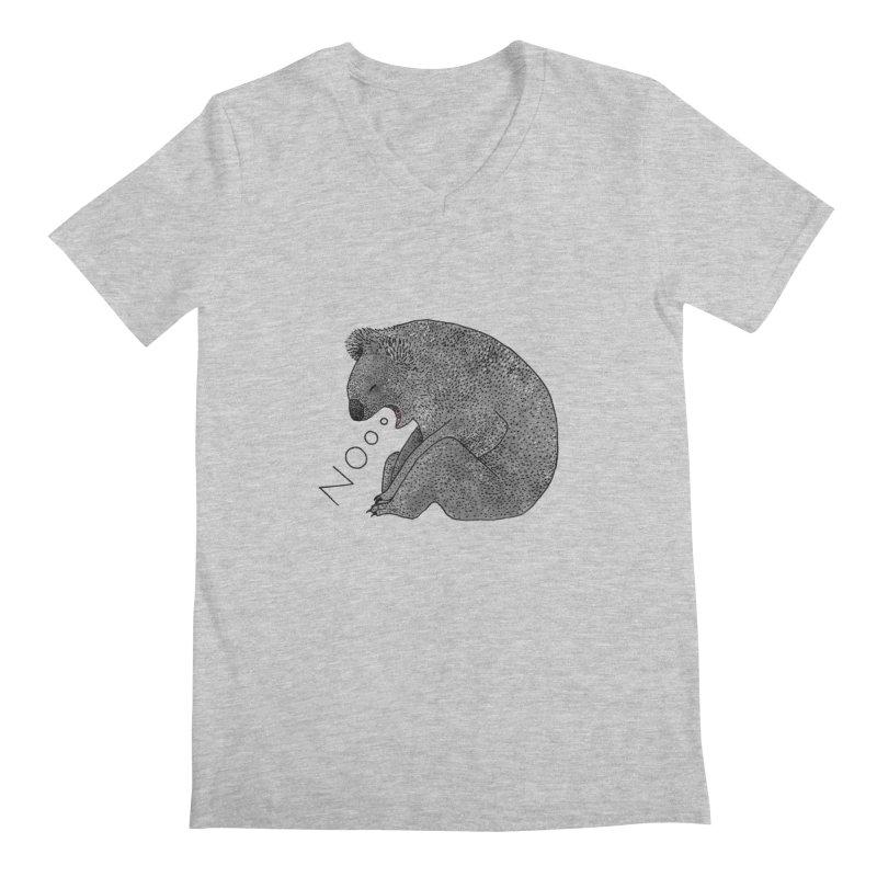 No Koala Men's V-Neck by Martina Scott's Shop