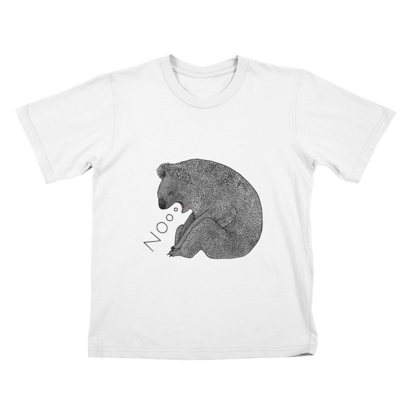 No Koala Kids T-Shirt by Martina Scott's Shop