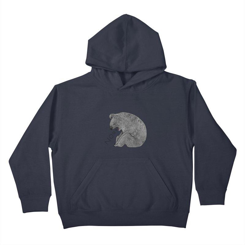 No Koala Kids Pullover Hoody by Martina Scott's Shop