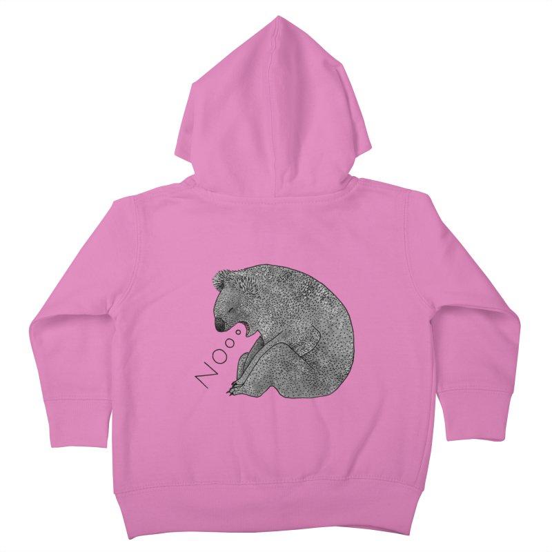No Koala Kids Toddler Zip-Up Hoody by Martina Scott's Shop