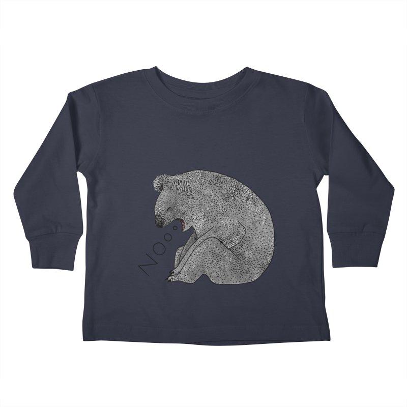 No Koala Kids Toddler Longsleeve T-Shirt by Martina Scott's Shop