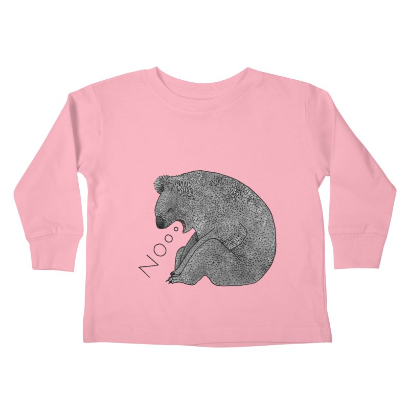 No Koala Kids Toddler Longsleeve T-Shirt by Martina Scott's Shop