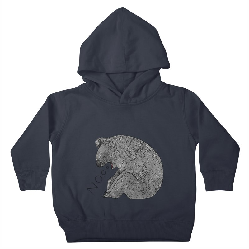 No Koala Kids Toddler Pullover Hoody by Martina Scott's Shop
