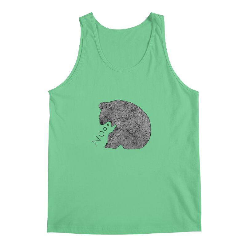 No Koala Men's Tank by Martina Scott's Shop