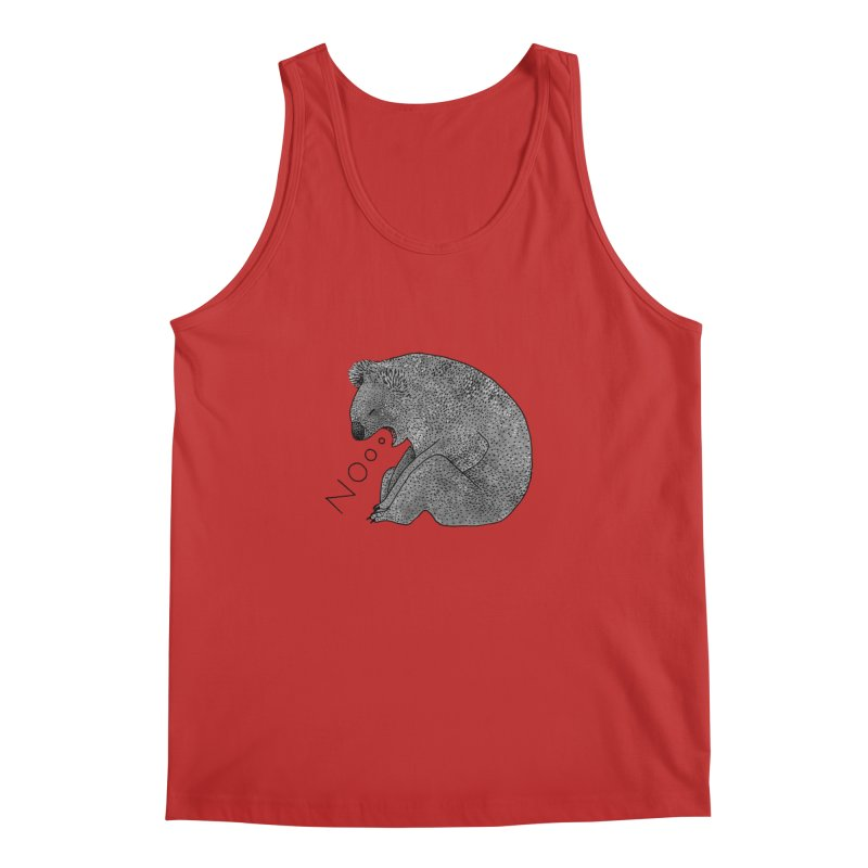 No Koala Men's Tank by Martina Scott's Shop