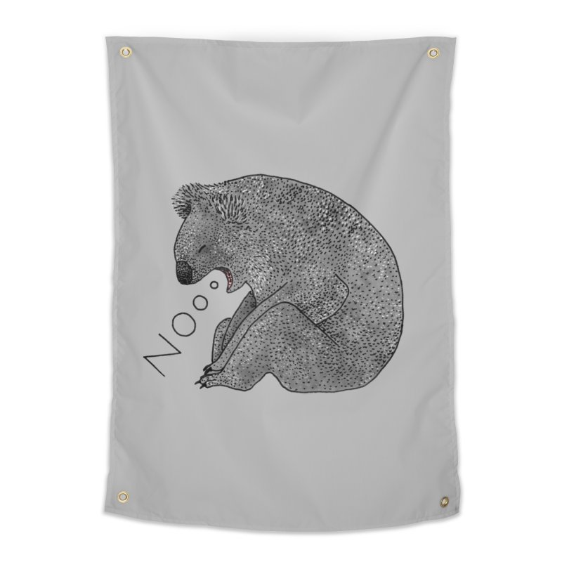 No Koala Home Tapestry by Martina Scott's Shop