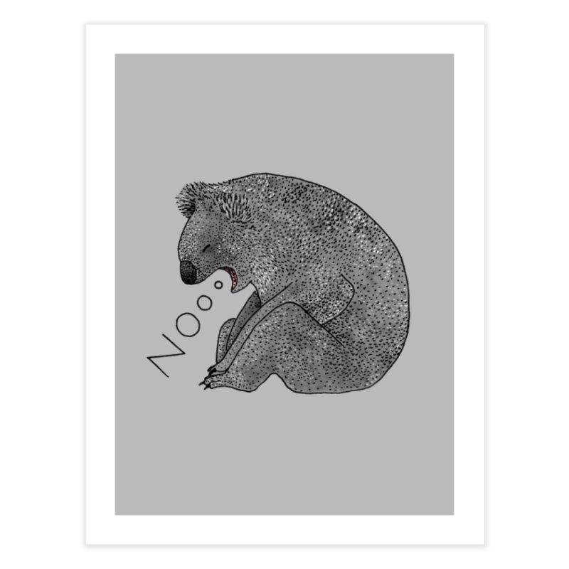 No Koala Home Fine Art Print by Martina Scott's Shop