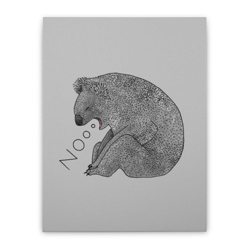 No Koala Home Stretched Canvas by Martina Scott's Shop
