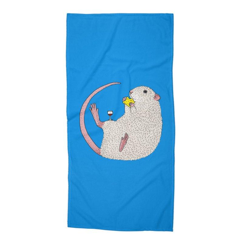 Nibbles Accessories Beach Towel by Martina Scott's Shop