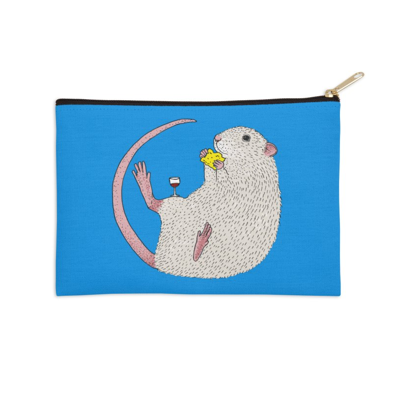 Nibbles Accessories Zip Pouch by Martina Scott's Shop