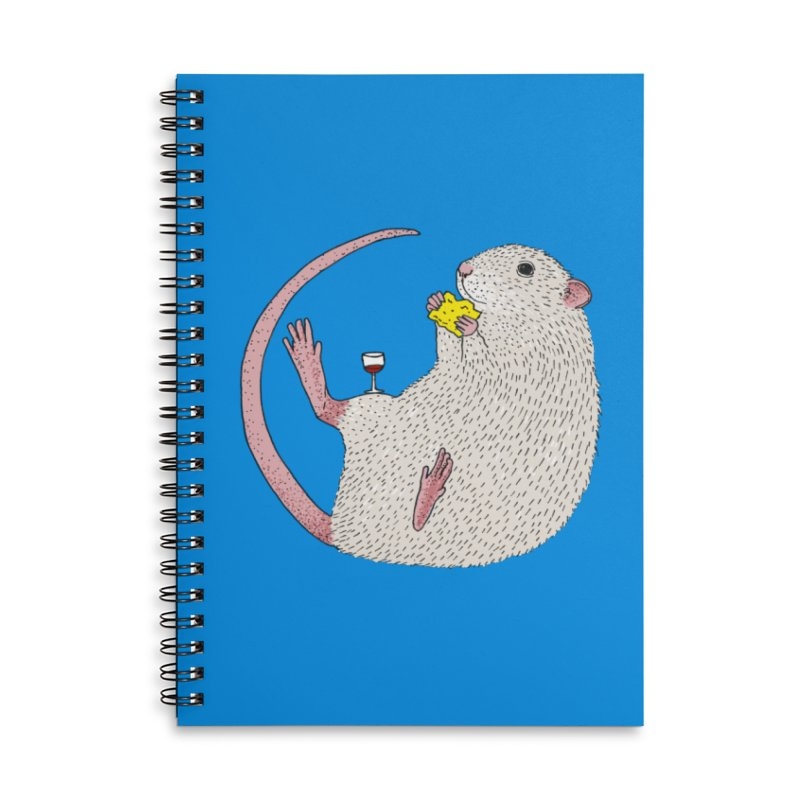 Nibbles Accessories Lined Spiral Notebook by Martina Scott's Shop