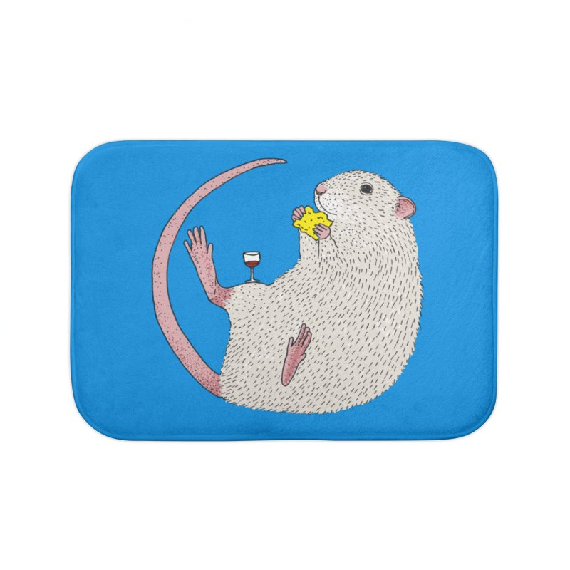 Nibbles Home Bath Mat by Martina Scott's Shop