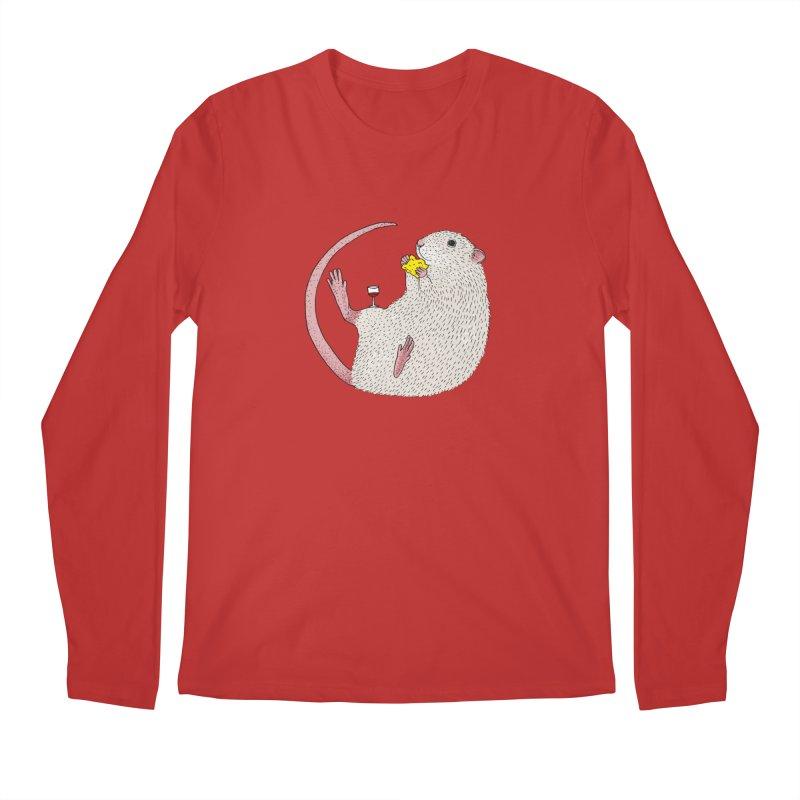 Nibbles Men's Longsleeve T-Shirt by Martina Scott's Shop