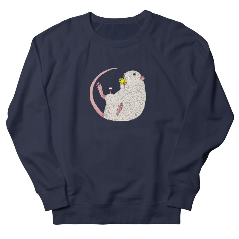 Nibbles Men's French Terry Sweatshirt by Martina Scott's Shop