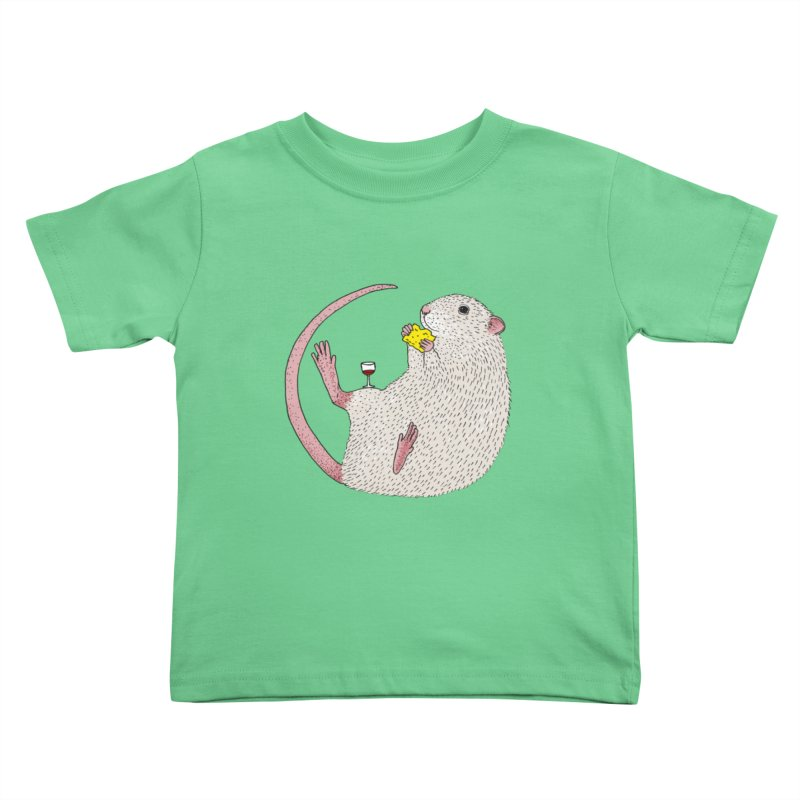 Nibbles Kids Toddler T-Shirt by Martina Scott's Shop