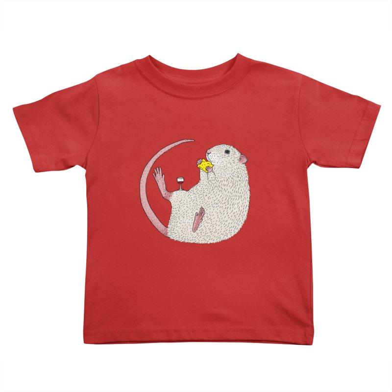 Nibbles Kids Toddler T-Shirt by Martina Scott's Shop