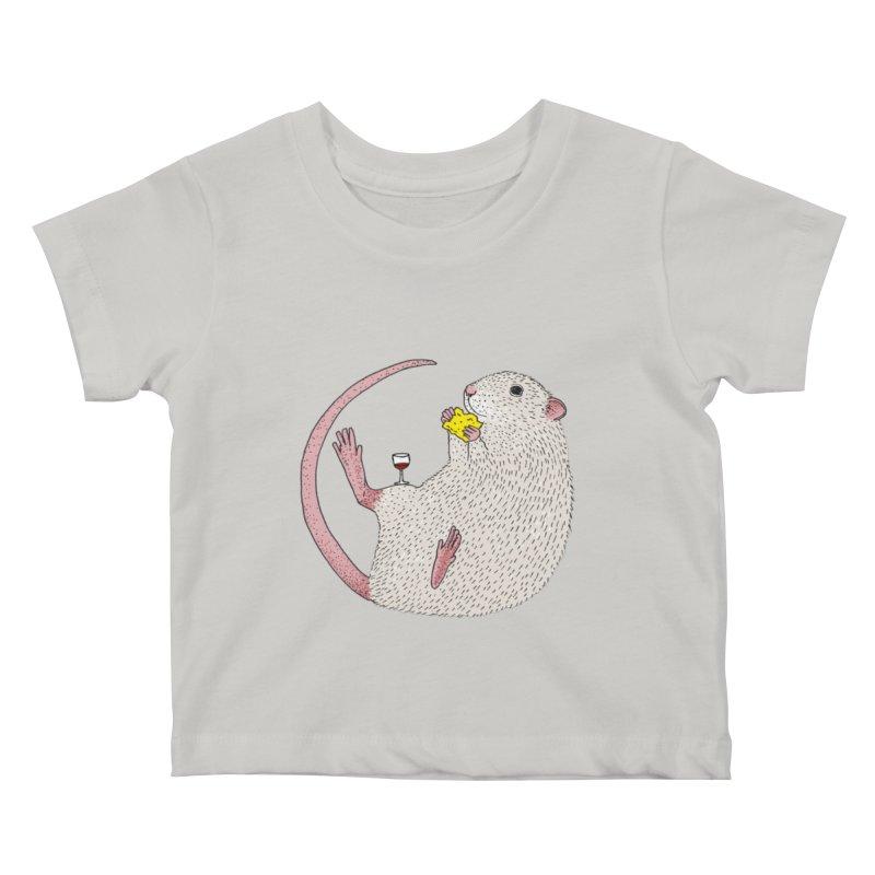 Nibbles Kids Baby T-Shirt by Martina Scott's Shop