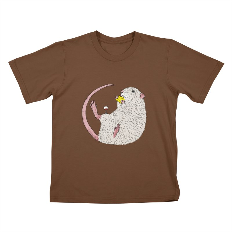 Nibbles Kids T-Shirt by Martina Scott's Shop