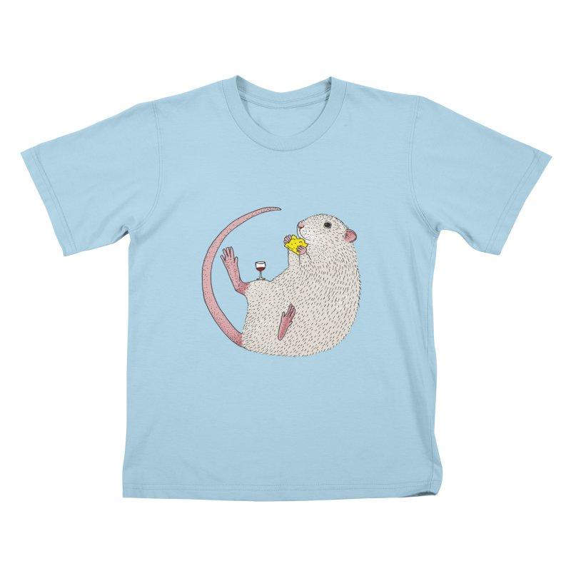 Nibbles Kids T-Shirt by Martina Scott's Shop